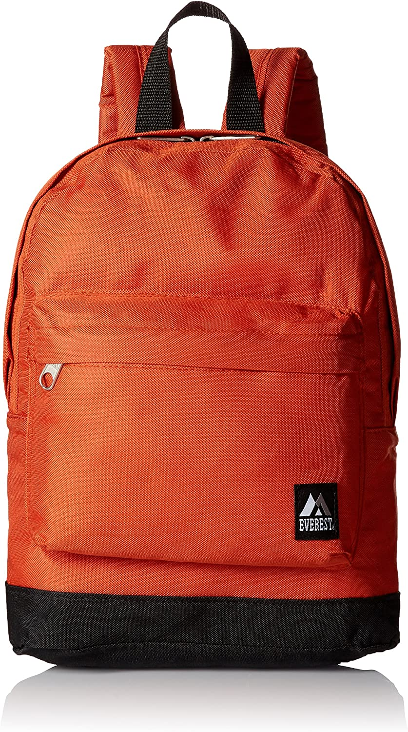 Everest Junior Backpack, Rustic Orange, One Size