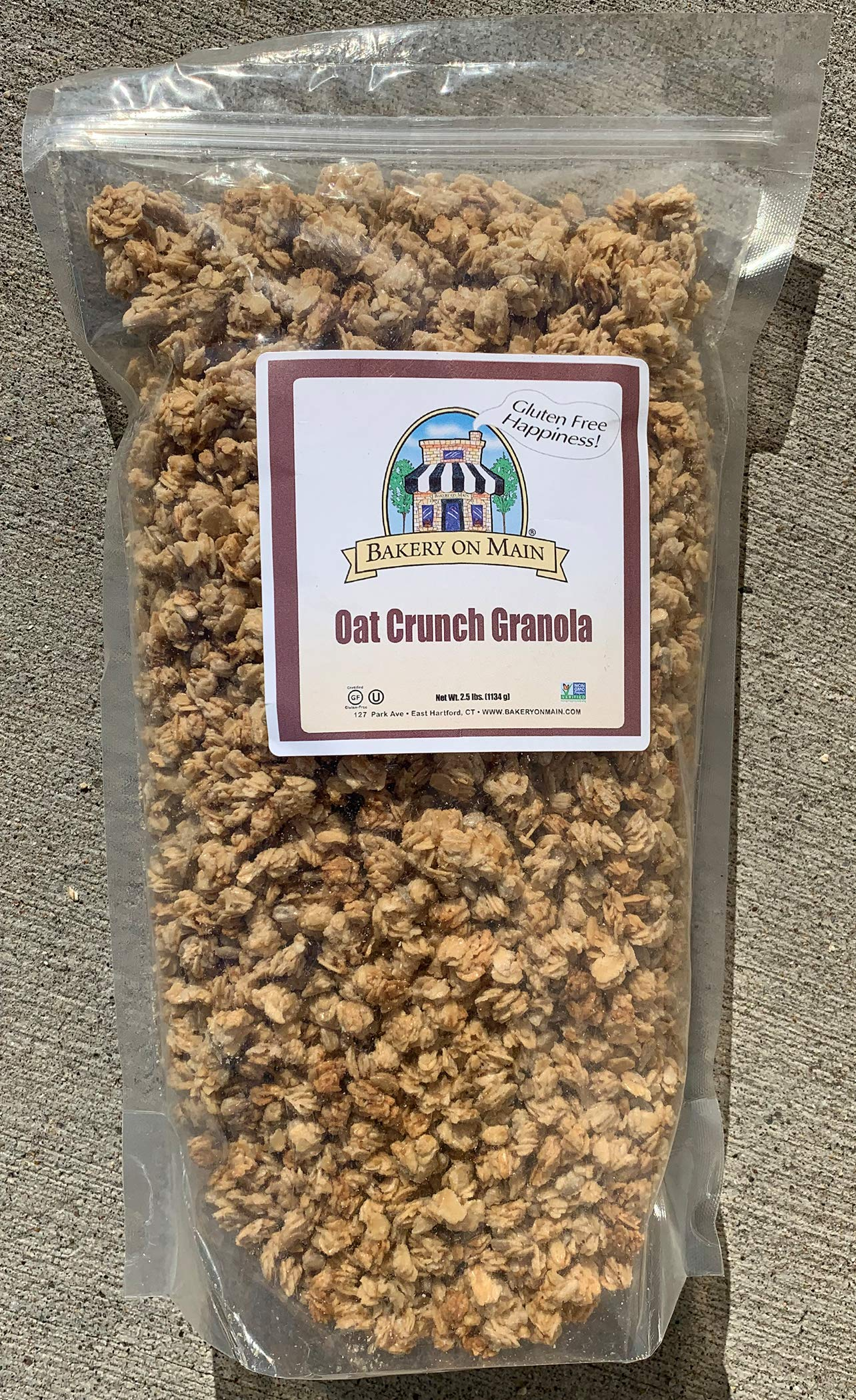 Bakery On Main Gluten-Free, Non GMO Granola, Oat Crunch, 2.5 Pound Bulk (Pack of 10) by Bakery On Main