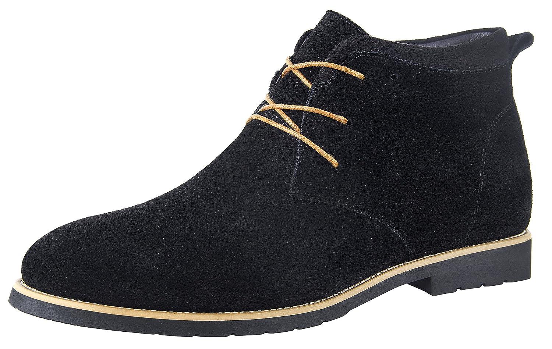 iLoveSIA Chukka Chaussures Montante à Lacets en Daim pour Homme Taille 38-49