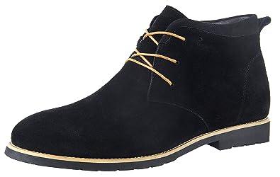 Los Angeles 30965 c6438 iLoveSIA Chukka Chaussures Montante à Lacets en Daim pour Homme Taille 38-49