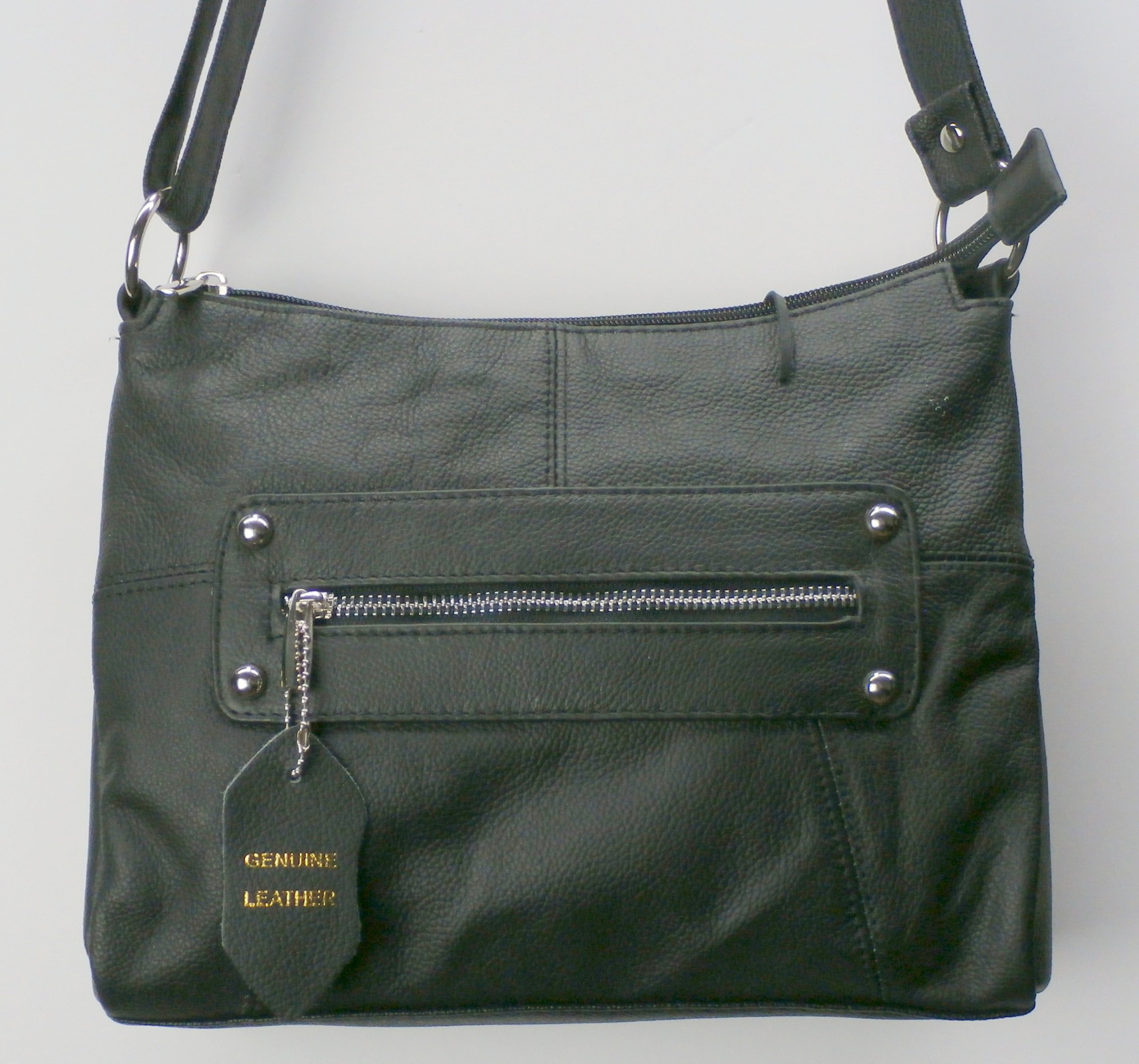 Camille Conceals ''Christy'' - Spacious Genuine Leather Concealed Carry Purse - Ambidextrous Draw