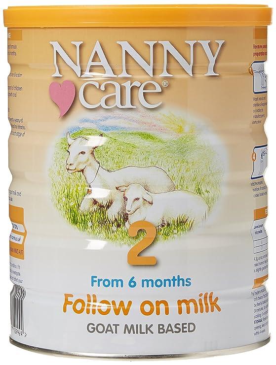 216edb47e Nanny Care Goats Milk - Follow On Milk - Stage 2 (900g)  Amazon.co.uk   Grocery