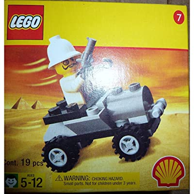 LEGO 2541 Shell Adventurers Egypt Set, Adventures Car/Buggy with Baron von Barron Minifig: Toys & Games
