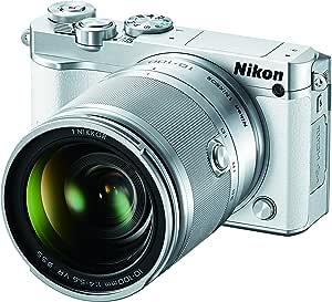 Nikon 1 J5 Mirrorless Digital Camera w/ 10-100mm Lens (White)