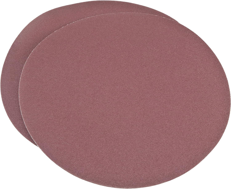 2-Pack Woodstock D1324 9-Inch Diameter PSA 120 Grit Aluminum Oxide Sanding Disc