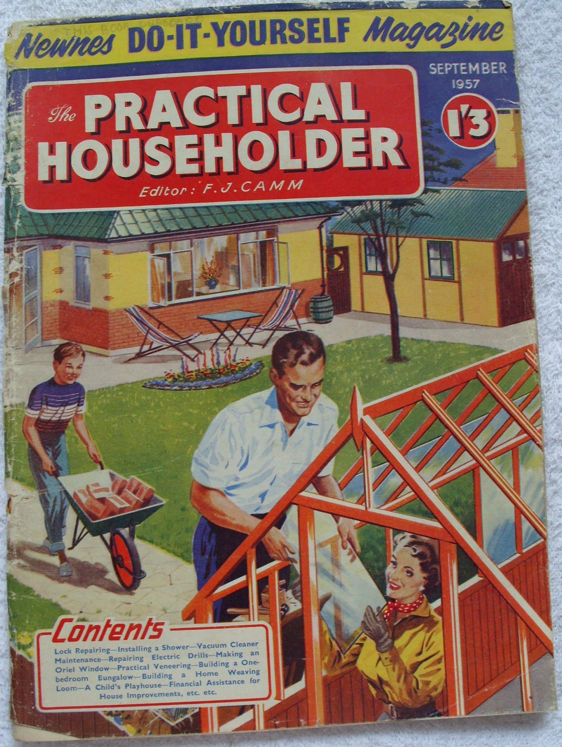 The practical householder september 1957 newnes do it yourself the practical householder september 1957 newnes do it yourself magazine amazon books solutioingenieria Gallery
