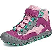 Mishansha Niño Zapatos de Senderismo Niña Cómodo Zapatillas de Trekking Exteriores Gr.26-38