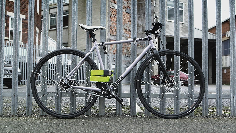 LITELOK Cerradura de Bicicleta Twin Gold (Negro Cuervo): Amazon.es ...