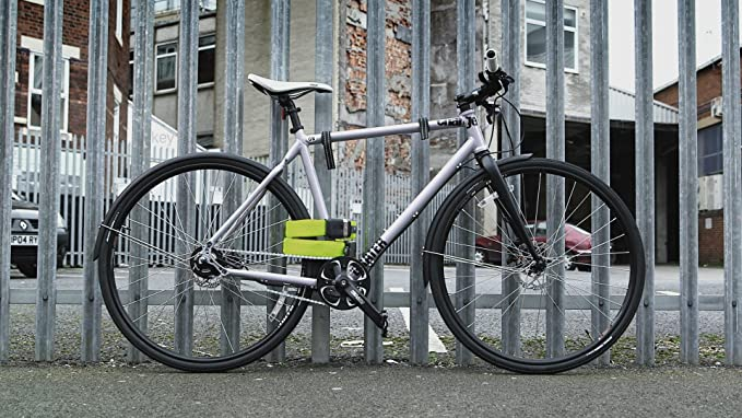 LITELOK Cerradura de Bicicleta Twin Gold (Verde Boa): Amazon.es: Deportes y aire libre