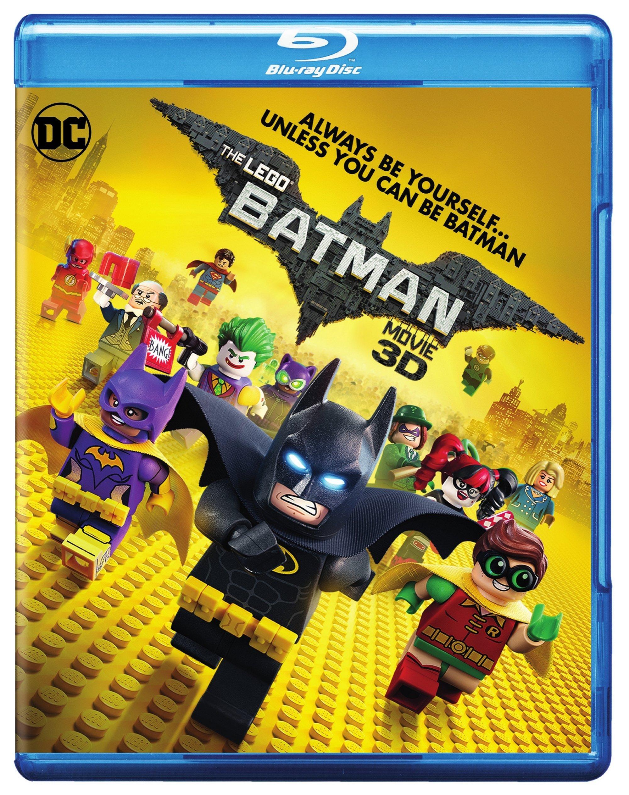 Blu-ray 3D : The Lego Batman Movie (With Blu-Ray, With DVD, Ultraviolet Digital Copy, Digital Copy, Digitally Mastered in HD)