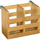 Dish Drying Rack Made Of  All Natural Premium Bamboo