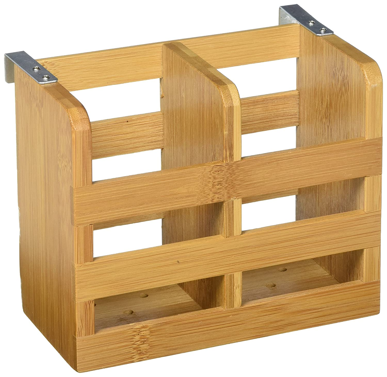 Lipper International 8813 Bamboo Wood Folding Dishrack, 17-3/4 x 13 x 9-3/4