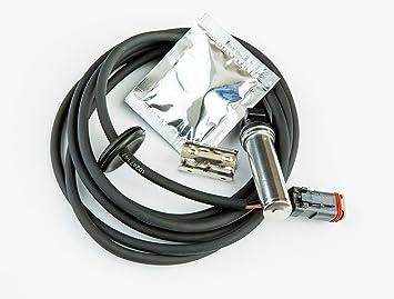 Trasero Izquierdo ABS Sensor de velocidad de la rueda para camiones autobs FH FM FMX NH Cable Bush: Amazon.es: Coche y moto