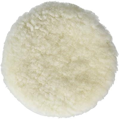 "TCP Global 8"" Natural 100% Wool 1"" Pile Buffing & Polishing Pad Bonnet: Automotive"