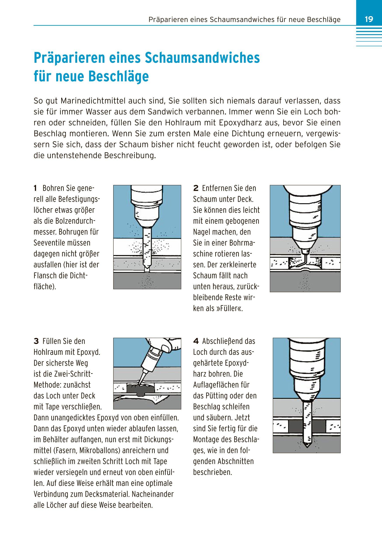 Schiff Boot Rumpf und Decksreparaturen Reparatur Deck Wartung Pflege Leck Buch Bücher Sport