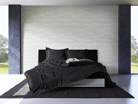 Steintapete grau schlafzimmer  Steintapete Grau Schiefer , schöne edle Tapete im Steinmauer ...