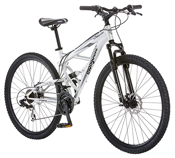 Mongoose R2780 Impasse Full Suspension Bicycle