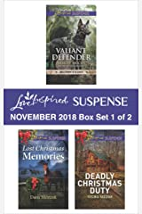 Harlequin Love Inspired Suspense November 2018 - Box Set 1 of 2: Valiant Defender\Lost Christmas Memories\Deadly Christmas Duty Kindle Edition
