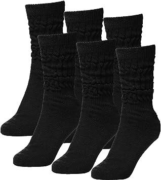 6 pares de calcetines Brubaker schopper para fitness Workout Yoga Gimnasia Wellness Unisex negro S: Amazon.es: Deportes y aire libre