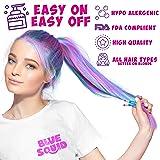Hair Chalk for Girls Pens - & Glitter Tattoo