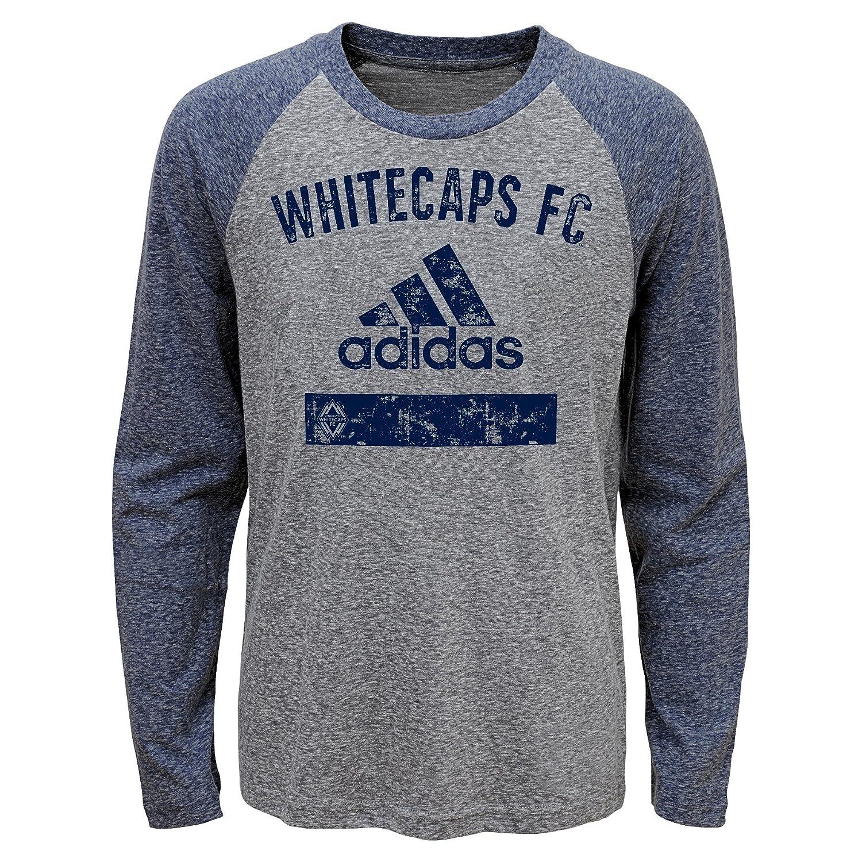 【お取り寄せ】 MLS Vancouver Medium Whitecaps Boys – Triblend Equiptment長袖Tシャツ、ヘザーグレー, Medium ) Triblend (5 – 6 ) B01N7Z2RDB, 人形広場 雛人形五月人形専門店:3428c5b0 --- a0267596.xsph.ru