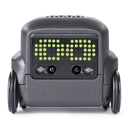 Boxer - 6045396 - Jouet enfant - Robot Boxer Noir - version allemande