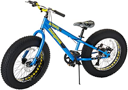 a80c30224 Amazon.com   Mongoose Kong Fat Tire Mountain Bike for Kids and ...