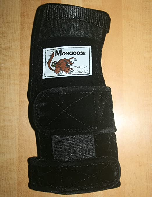 "Mongoose ""Lifter"" Bowling Wrist Band Support Brace Right Hand"