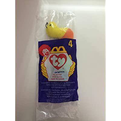 Inch the Worm - McDonald's Ty Teenie Beanie MIP - 1998 #04: Toys & Games