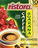 Ristora - Caffè e Guaranà, Preparato Istantaneo per Bevanda, Pacco da  10X10 g, totale: 100 g