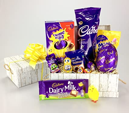 Free uk delivery happy cadbury easter deluxe chocolate hamper free uk delivery happy cadbury easter deluxe chocolate hamper large variety including negle Image collections