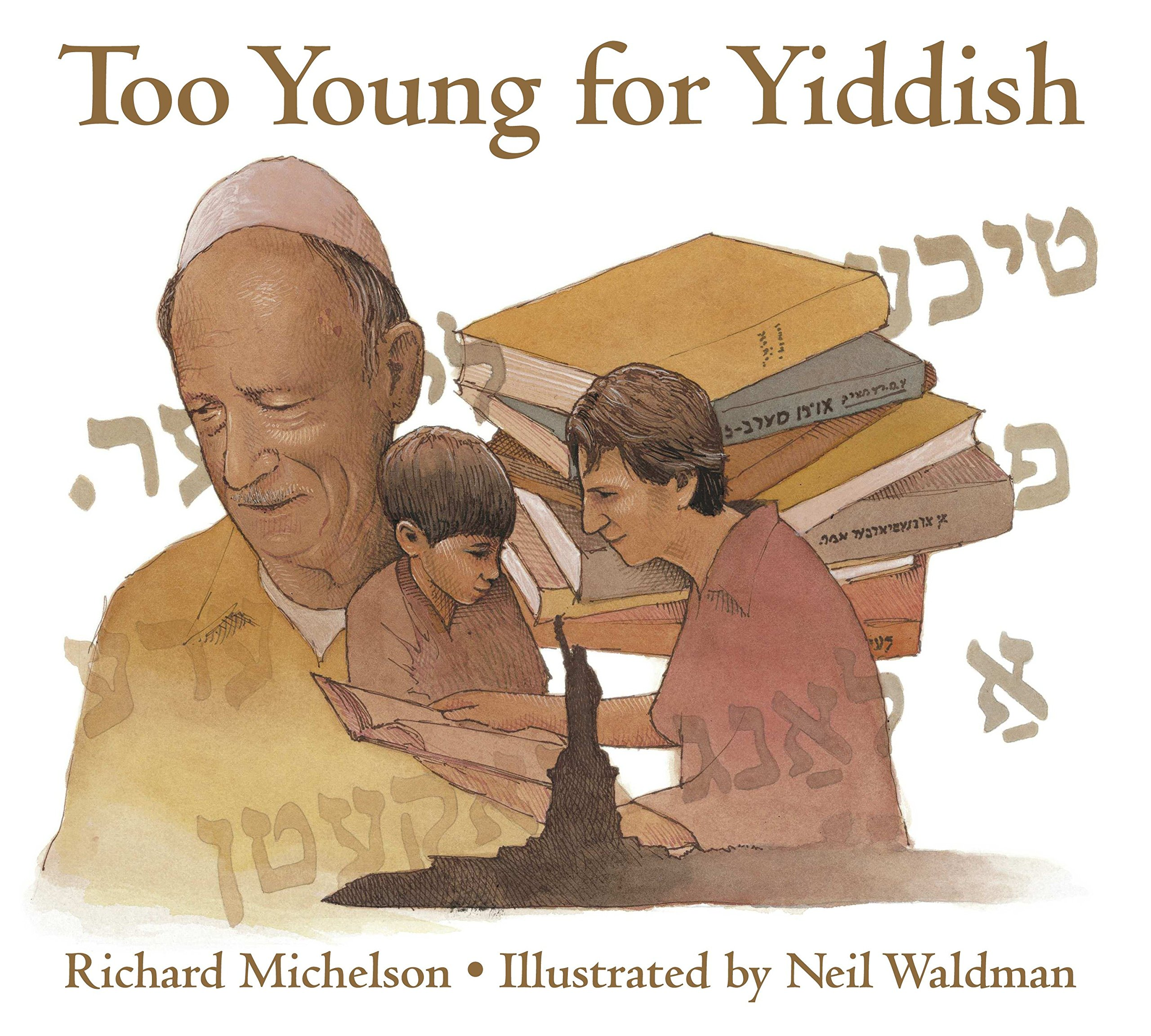 Too Young for Yiddish by Charlesbridge