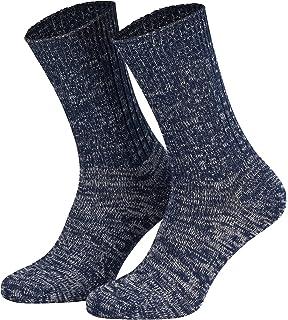 Piarini - 5 pares de calcetines - Ideales para vaqueros - 100% Algodón - 3