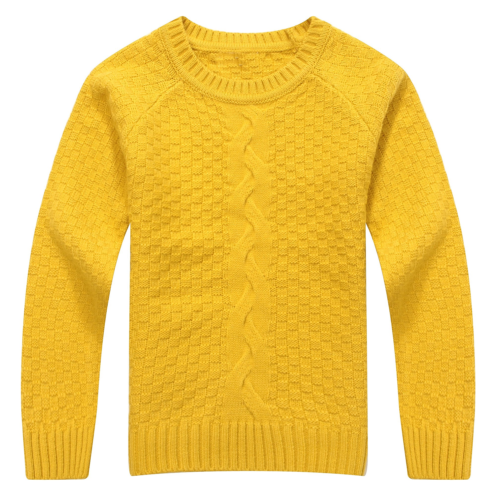 Richie House Little Girls' Classic Solid Color Sweater RH1422-B-2/3