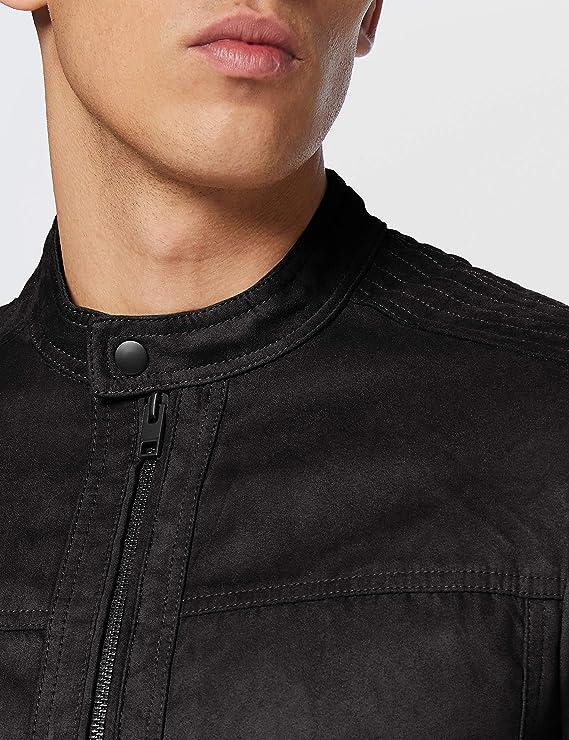 Jack /& Jones Jjewarner Jacket Noos Chaqueta de cuero sinttico para Hombre