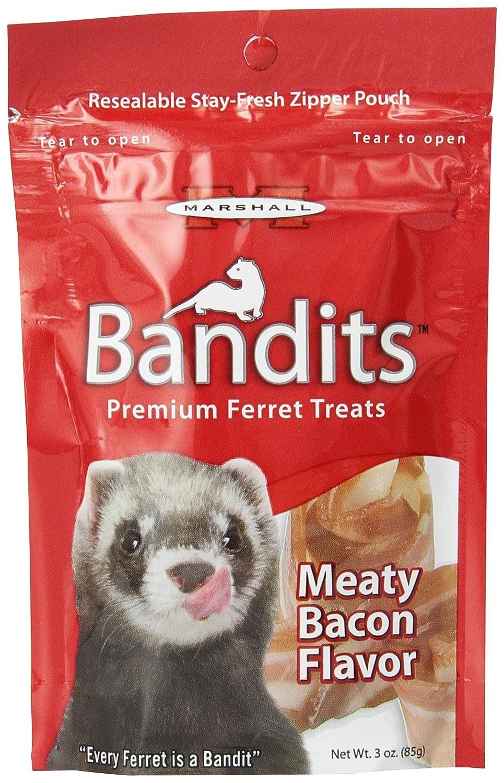 Marshall Products FD-382 Ferret Bandits-Meaty Bacon 3oz Burgham Sales Ltd.