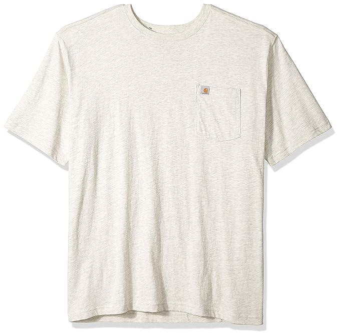 7cb45aa187 Carhartt Big and Tall Men's Big & Tall Maddock Pocket Short Sleeve T Shirt