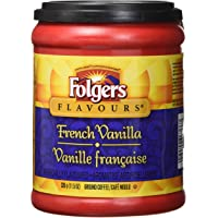 Folgers French Vanilla Flavoured Ground Coffee 326g