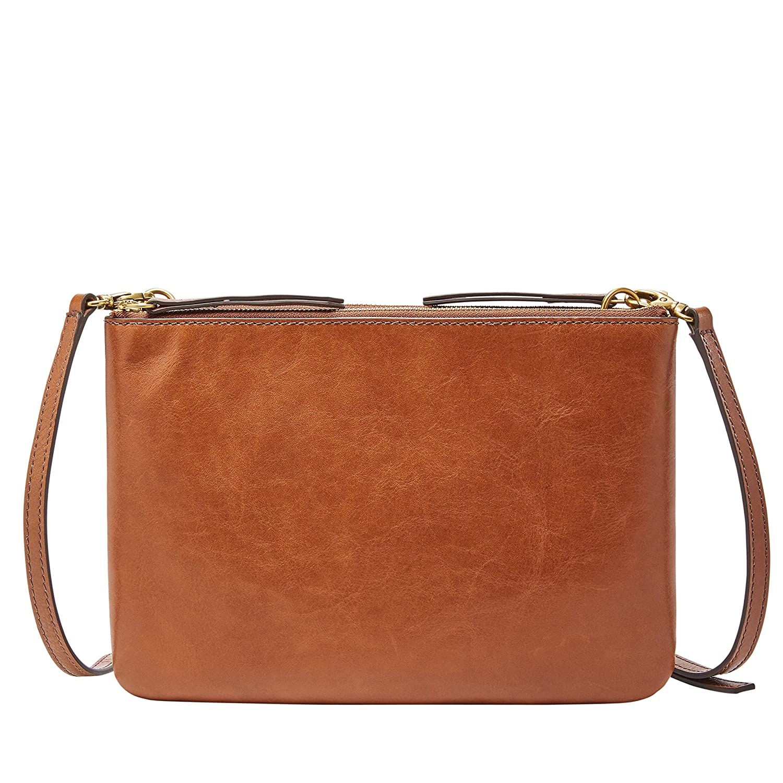 639a08dbc FOSSIL Women's Devon Bag, Brown, One Size: Amazon.com.au: Fashion