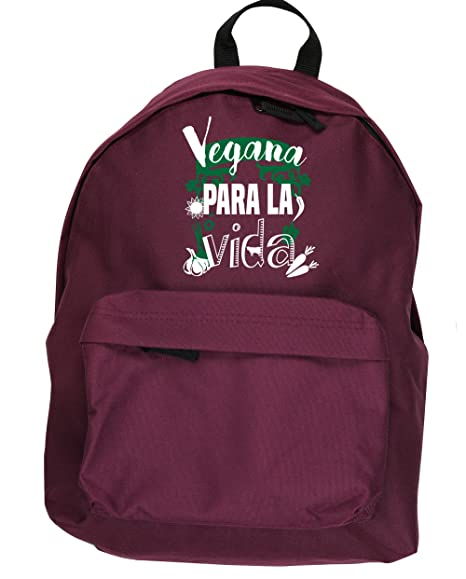 HippoWarehouse Vegana Para la Vida (Vaca) kit mochila Dimensiones: 31 x 42 x