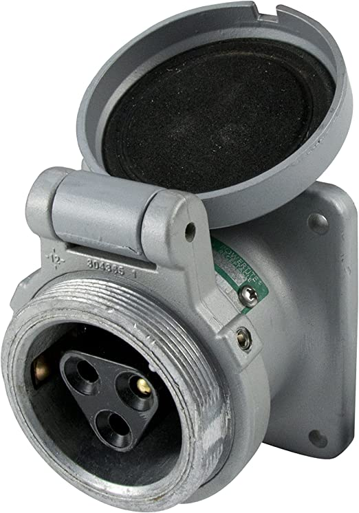 Appleton ADR3034 3-WIRE 4-POLE 30-AMP STYLE-2 PIN /& SLEEVE RECEPTACLE