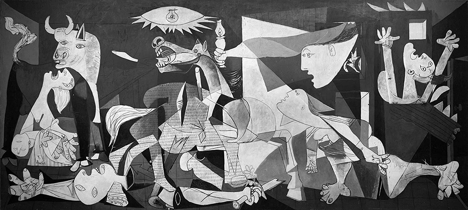 Guernica 1937 by pablo picasso the world famous classic art reprint 10 most famous paintings in the world collection large size premium quality