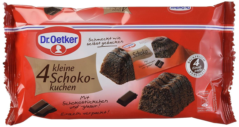 Dr Oetker 4 Kleine Schokokuchen 5er Pack 5 X 140 G Amazon De