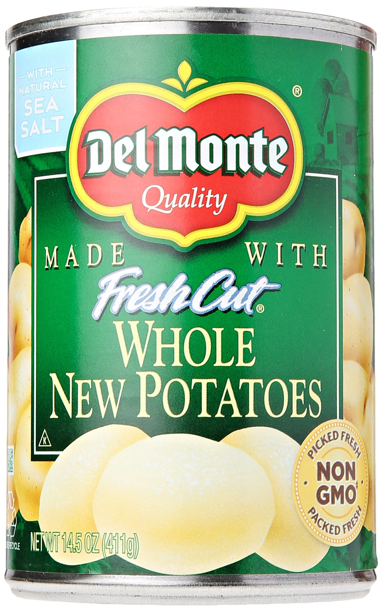 Del Monte Foods Whole New Potatoes, 14.5 oz by Del Monte Foods