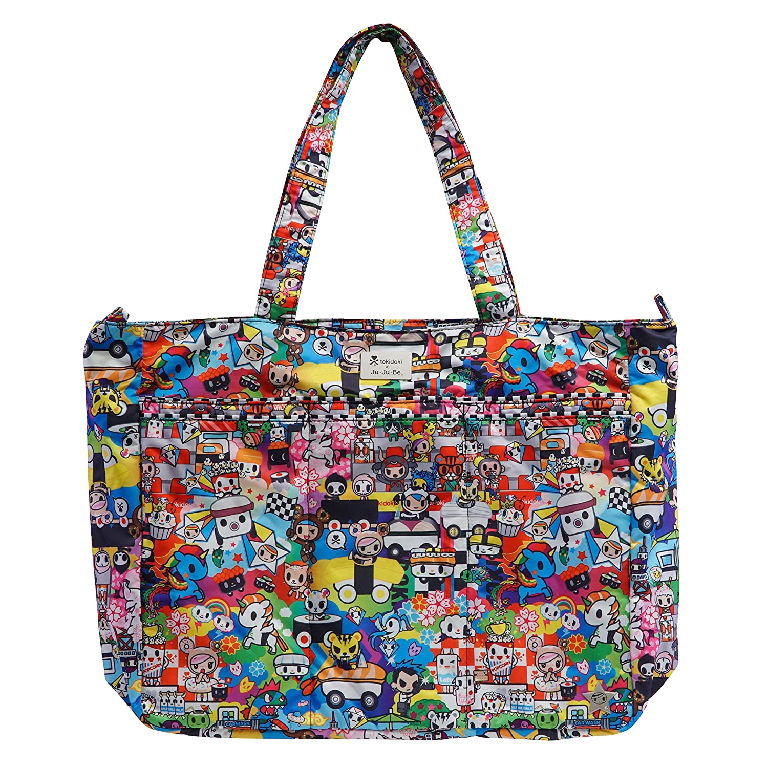 Ju-Ju-Be Tokidoki Collection Super Be Zippered Tote Diaper Bag, Sushi Cars