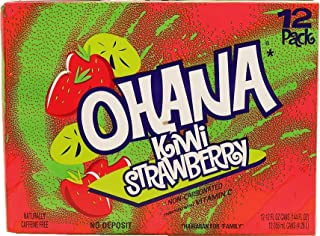 product image for Faygo Ohana kiwi strawberry flavored drink, contains no juice, 12-fl. oz. cans 12-pack Suitcase