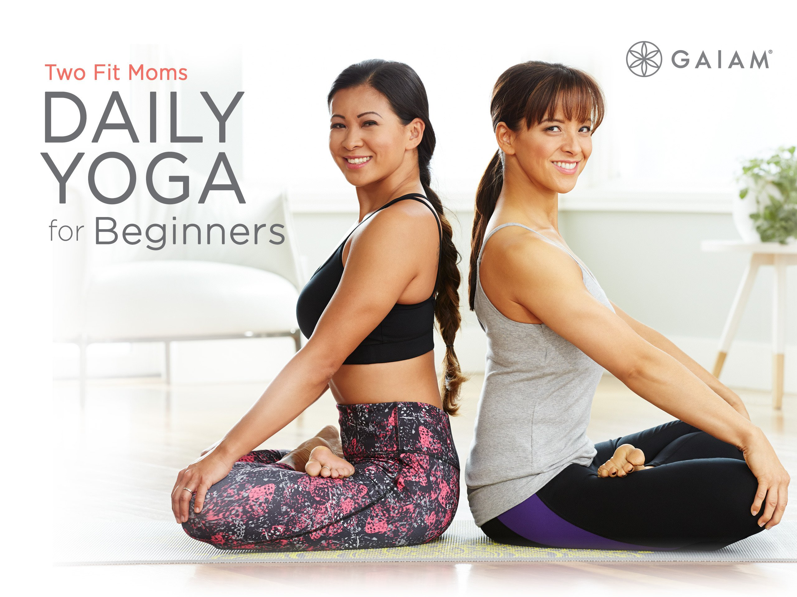 Watch Gaiam: Two Fit Moms: Daily Yoga for Beginners | Prime ...