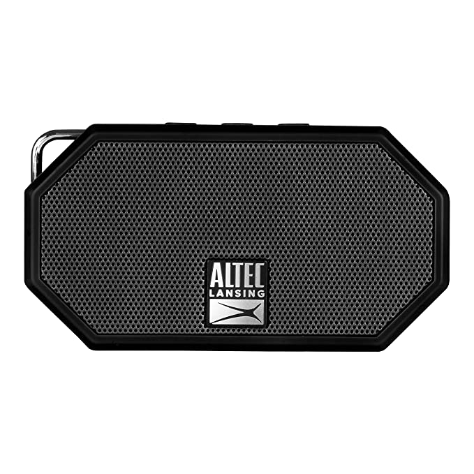 Altec Lansing IMW258 Mini H2O 2 Portable Bluetooth Waterproof Speaker  (Black)