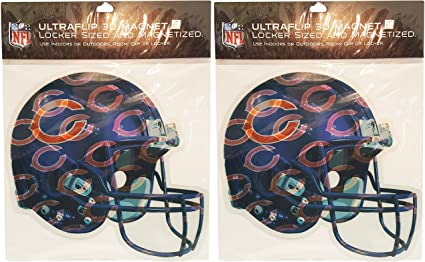 Home Holographic NFL Magnets Perfect for Vehicles or at The Office NFL New 4-Piece Ultraflip 3D Multi-Magnets School Represent Your Favorite Team in Style!
