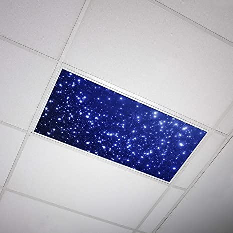 Octo Lights Fluorescent Light Covers 2x4 Fluorescent Light Filters Ceiling Light Covers For Classroom Kitchen Office Astronomy 001 Amazon Com
